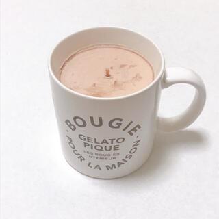 ジェラートピケ(gelato pique)のジェラートピケ キャンドル  マグカップ(グラス/カップ)