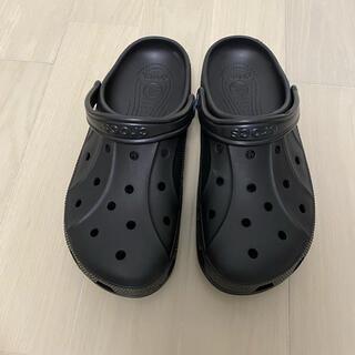 クロックス(crocs)のクロックス黒28センチ(サンダル)