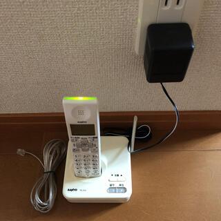 SANYO - ☆送料込み☆SANYO 正規品 デジタルコードレス電話機 TEL-DJ3  白