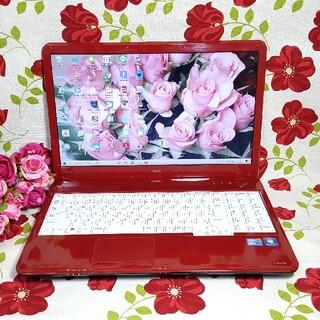 NEC - ☆赤色☆NEC☆LaVie☆Win10☆CORE-i5☆大容量500G&4GB