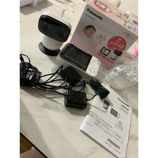 パナソニック(Panasonic)のPanasonic ベビーモニター KX-HC705-W(防犯カメラ)