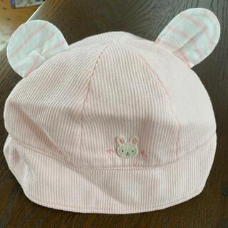 ミキハウス(mikihouse)のミキハウス 帽子 40〜44センチ ss 美品(帽子)
