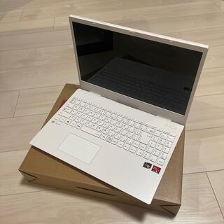 エヌイーシー(NEC)のLAVIEノートパソコン PC-N1536AWZ-2(ノートPC)