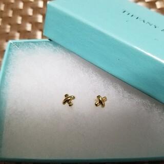 Tiffany & Co. - ティファニー ゴールドピアス