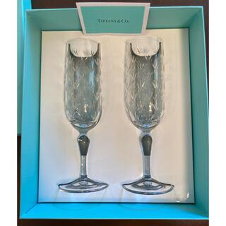 Tiffany & Co. - 【未使用】ティファニー フローレット ペアシャンパングラス