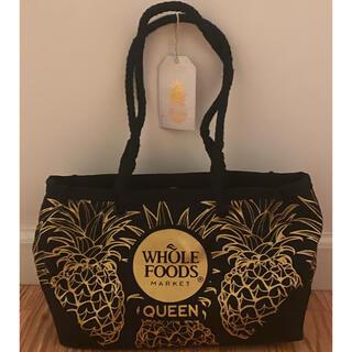 Whole Foods HAWAII パイナップル柄ミニトートバッグ