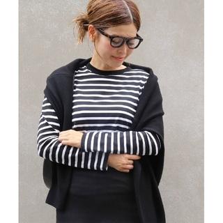 DEUXIEME CLASSE - 新品 ドゥーズィエムクラス COCO Stripe Tシャツ No5 ブラック