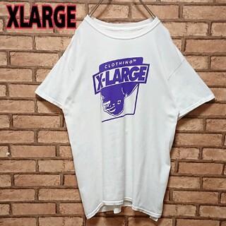 XLARGE - X-LARGE エクストララージ フロント プリントロゴ 半袖 Tシャツ