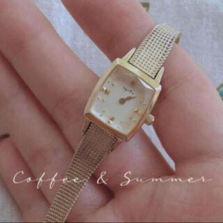 agete - 連休特別価格❣️人気モデル❣️アガットagete ゴールド時計 ウォッチ