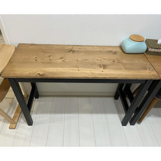 カウンターテーブル 2個セット