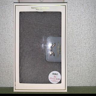 サマンサタバサプチチョイス(Samantha Thavasa Petit Choice)のiPhone7Plus・8Plus用ケース  サマンサタバサふわもこ💓手帳型(iPhoneケース)