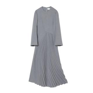 マメ(mame)のCurved Pleated Dress(ロングワンピース/マキシワンピース)