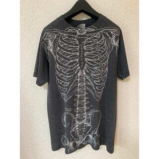 ヘインズ(Hanes)の骨 bone tシャツ Hanes(Tシャツ/カットソー(半袖/袖なし))