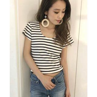 ジェイダ(GYDA)のGYDA ジェイダ 2way バインダーTシャツ moussy SLY 韓国(Tシャツ(半袖/袖なし))