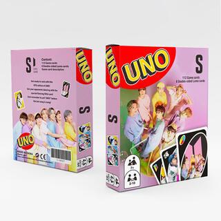 新品 匿名発送 大人気 BTS防弾少年団全員 UNOゲームカード 120枚
