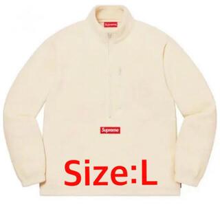 Supreme - Supreme Polartec Half Zip Pullover Lサイズ