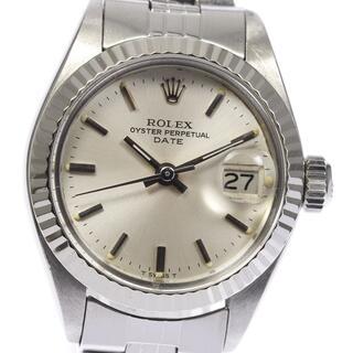 ロレックス(ROLEX)のロレックス オイスター パーペチュアル デイト 6917 レディース 【中古】(腕時計)