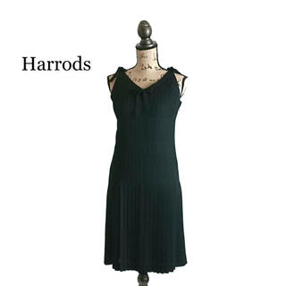 Harrods - Harrods ハロッズ ワンピース ブラック ドレス