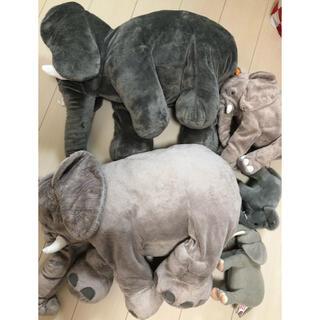 イケア(IKEA)のイケア IKEA ゾウ ぞう 象 ぬいぐるみまとめ売り(ぬいぐるみ)