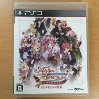 PlayStation3 - 新・ロロナのアトリエ はじまりの物語 ~アーランドの錬金術士~ PS3