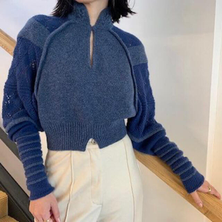 mame - Mame/Multiple Knit High-Neck Tops