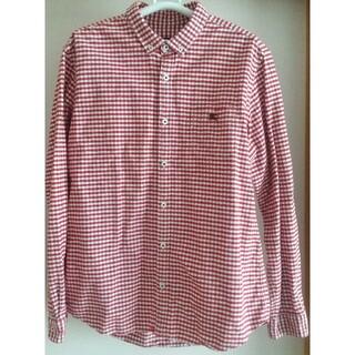 バーバリーブラックレーベル(BURBERRY BLACK LABEL)のバーバリーブラックレーベル 長袖 チェックシャツ サイズ3(シャツ)