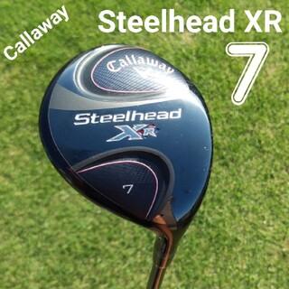 Callaway - キャロウェイ Steelhead XR  7WスピーダーエボⅣ装着 FLEX-S