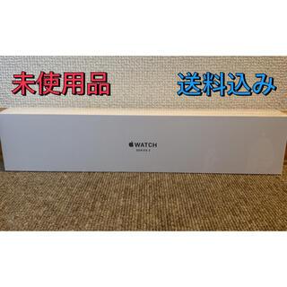 Apple Watch - 【未使用品】APPLE WATCH3 38mm アップルウォッチ ブラック⑤