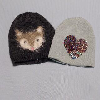 エイチアンドエム(H&M)のニット帽 2個セット H&M(帽子)