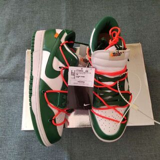 Nike×Off-White Dunk Low GREEN