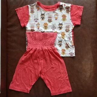 アンパンマン(アンパンマン)のベビー服 パジャマ 半袖 アンパンマン 80cm(パジャマ)