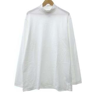 ワイスリー(Y-3)のY-3 21AW モックネック Tシャツ GK4496 長袖 M ホワイト(Tシャツ/カットソー(七分/長袖))