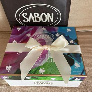 SABON - SABON サボン ボディケアキット キティコラボ パチュリラベンダーバニラ