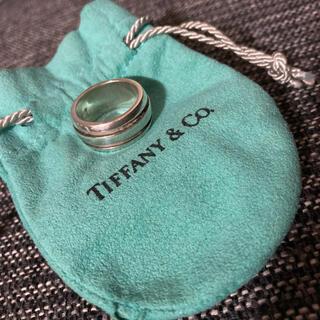 Tiffany & Co. - ティファニー グルーブドリング ダブルライン
