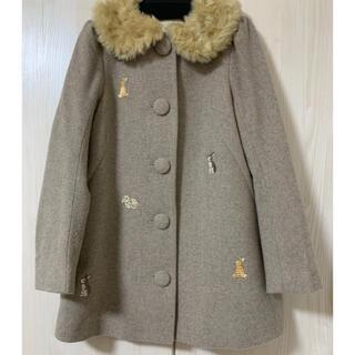 フランシュリッペ(franche lippee)のフランシュリッペ・ラビット刺繍コート(ロングコート)