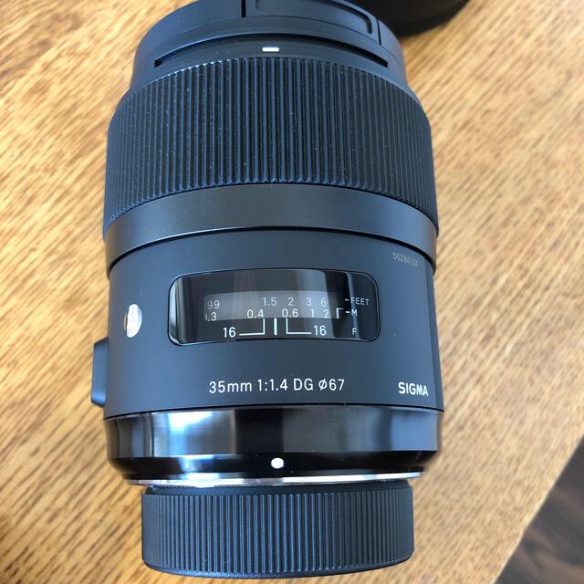 SIGMA(シグマ)のSIGMA35mm F1.4 for Nikon DG HSM Art スマホ/家電/カメラのカメラ(レンズ(単焦点))の商品写真