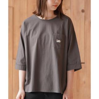 rps - 【新品タグ付き】rps ねこ刺繍7分袖ワイド Tシャツ