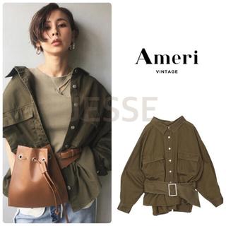 Ameri VINTAGE - タグ有り♪ アメリヴィンテージ ミリタリーシャツジャケット
