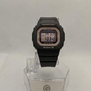 ベビージー(Baby-G)のG-SHOCK baby-G BGD-5000 ブラック&ピンク 電波ソーラー(腕時計)