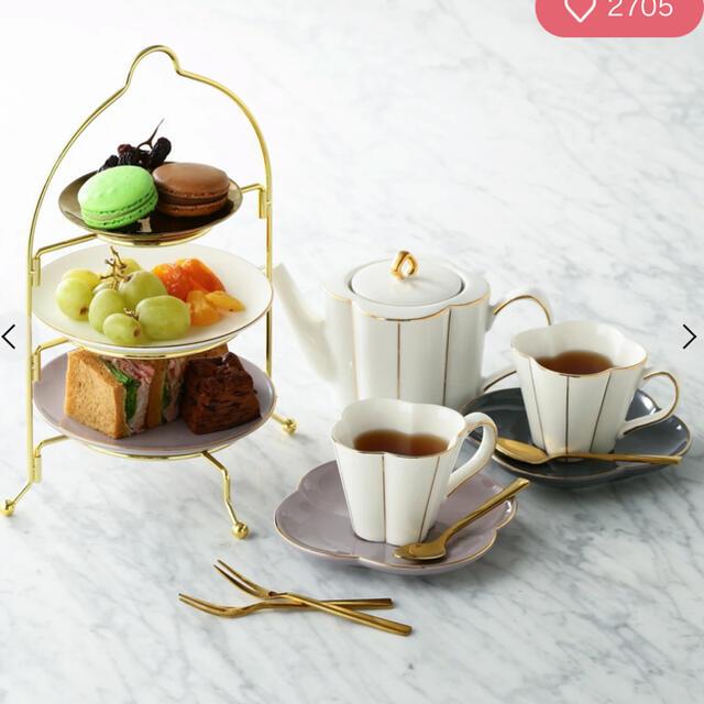 Francfranc(フランフラン)のFrancfranc おうちカフェセット インテリア/住まい/日用品のキッチン/食器(食器)の商品写真