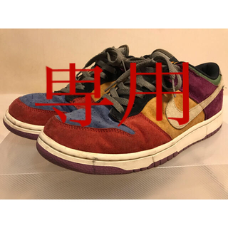 NIKE - NIKE DUNK LOW クレイジーダンク