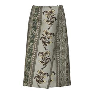 Ameri VINTAGE - Ameri Vintage アメリヴィンテージ ジャガード ラップ スカート
