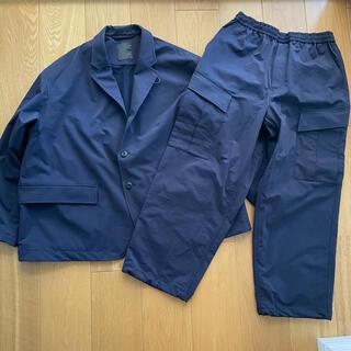 ワンエルディーケーセレクト(1LDK SELECT)の20aw Daiwa Pier39 ジャケット パンツ セット アップ ネイビー(テーラードジャケット)