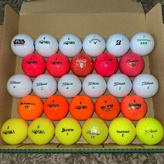 ゴルフボール ロストボール28球