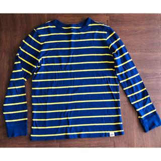 ギャップキッズ(GAP Kids)のGAPKIDS 長袖ボーダーシャツ(Tシャツ/カットソー)