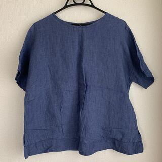 ムジルシリョウヒン(MUJI (無印良品))の無印ブラウス(シャツ/ブラウス(半袖/袖なし))
