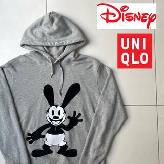 ユニクロ(UNIQLO)のディズニー【Disney】オズワルド Oswaldユニクロ コラボ  パーカー(パーカー)