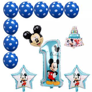 Disney - ミッキー ディズニー 1歳 バルーン 風船 誕生日 パーティー 装飾