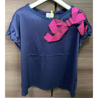 ランバンオンブルー(LANVIN en Bleu)のランバンオンブルー Tシャツ 38サイズ(Tシャツ(半袖/袖なし))