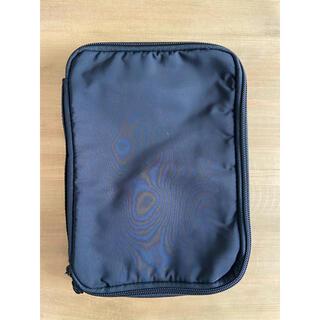 ムジルシリョウヒン(MUJI (無印良品))の無印良品 取り外せるペンケース付手帳カバーA5サイズ(ペンケース/筆箱)